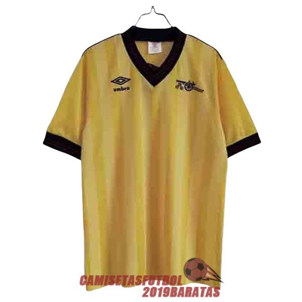 arsenal 1983 1986 camiseta retro segunda