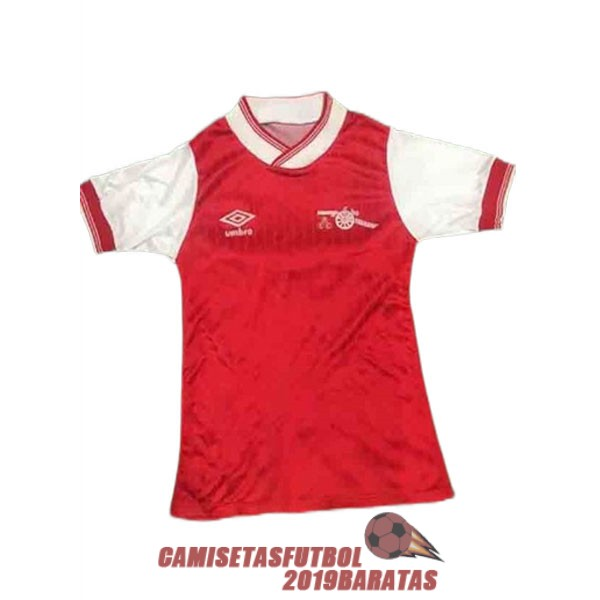 arsenal 1984 1985 camiseta retro primera