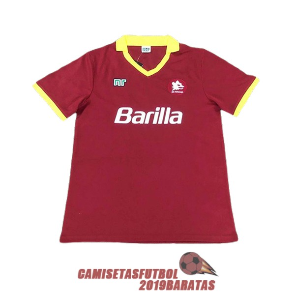 as roma 1987 1988 camiseta retro primera