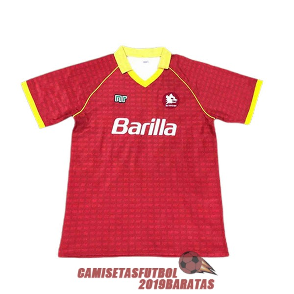 as roma 1988 1990 camiseta retro primera