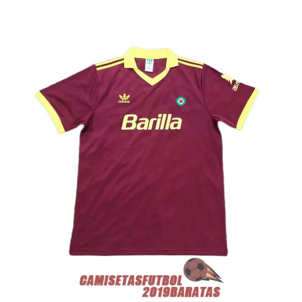 as roma 1991 1992 camiseta retro primera