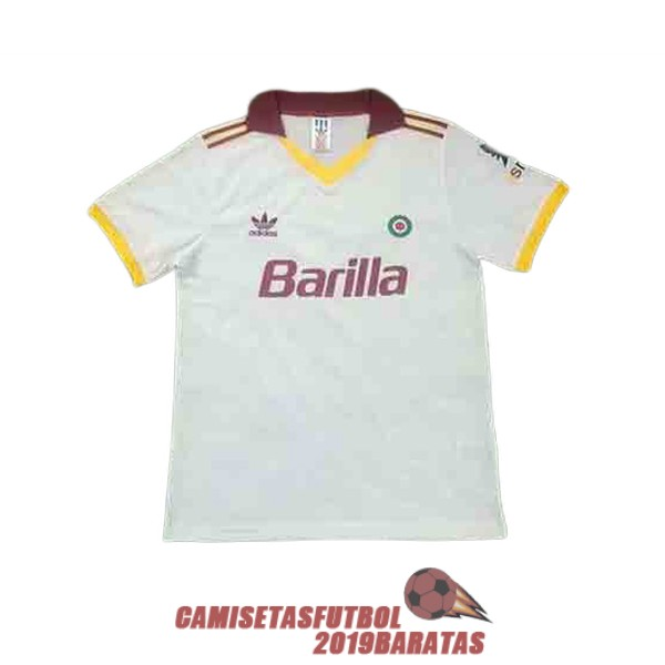 as roma 1991 1992 camiseta retro segunda