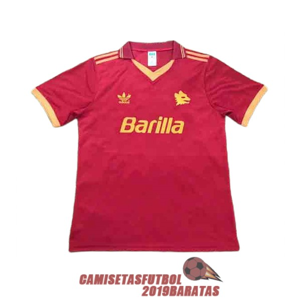 as roma 1992 1993 camiseta retro primera
