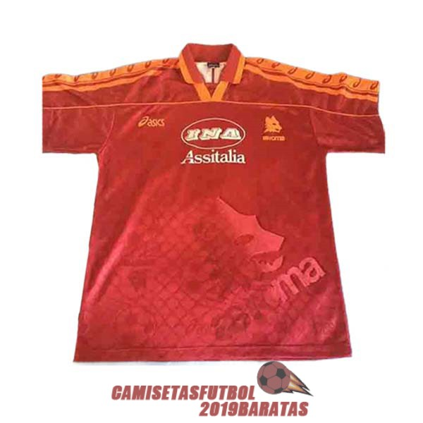as roma 1995 1996 camiseta retro primera