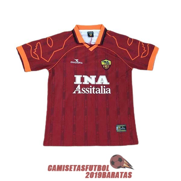 as roma 1999 2000 camiseta retro primera