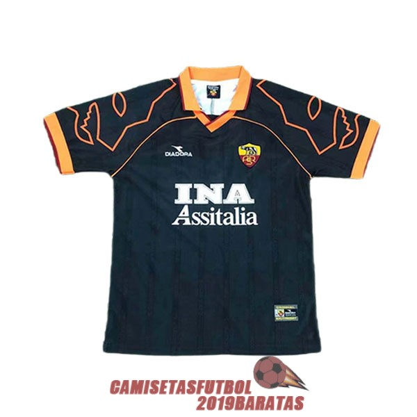 as roma 1999 2000 camiseta retro tercera