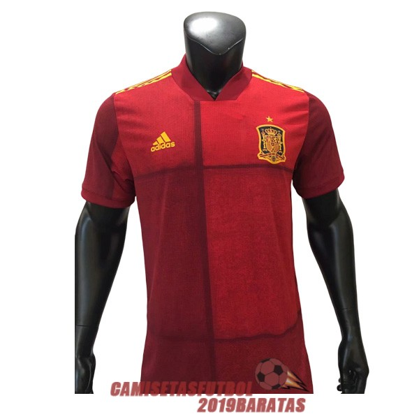 espana 2020 camiseta primera version player
