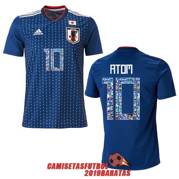 japon 2018 camiseta oliva y tom primera