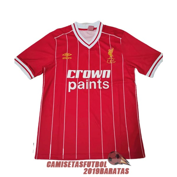 liverpool 1981 1984 camiseta champions league retro rojo