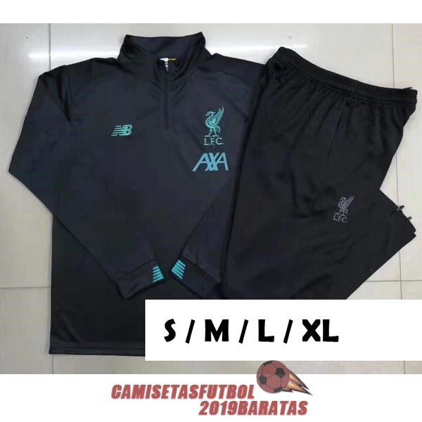 liverpool 2019 2020 cremallera chandal gris oscuro