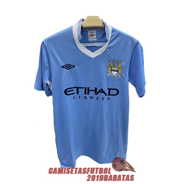 manchester city 2011 2012 camiseta retro primera
