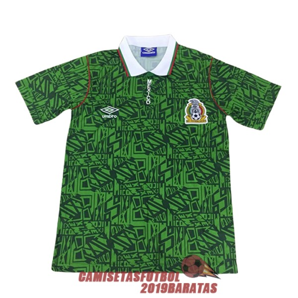mexico 1994 camiseta retro primera