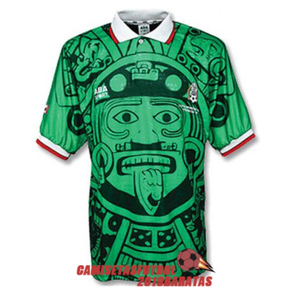 mexico 1998 camiseta retro primera