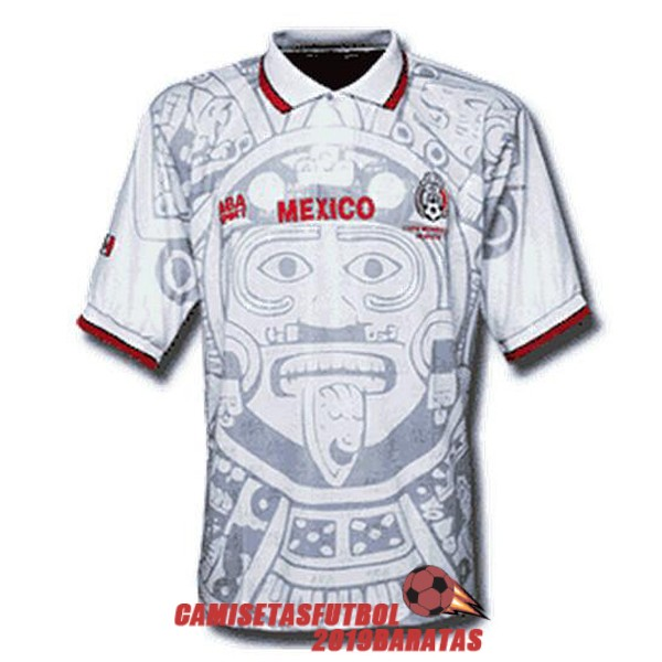mexico 1998 camiseta retro segunda