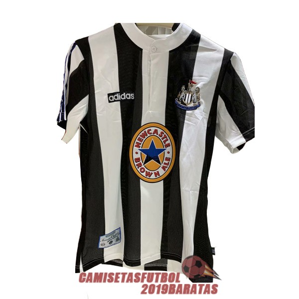 newcastle united 1995 1997 camiseta retro primera