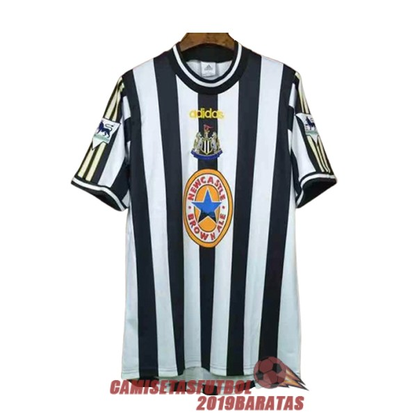 newcastle united 1997 1999 camiseta retro primera