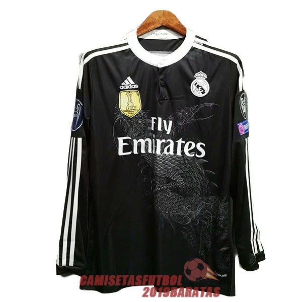 real madrid 2014 2015 camiseta manga larga retro tercera