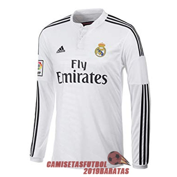 real madrid 2014 camiseta manga larga retro primera