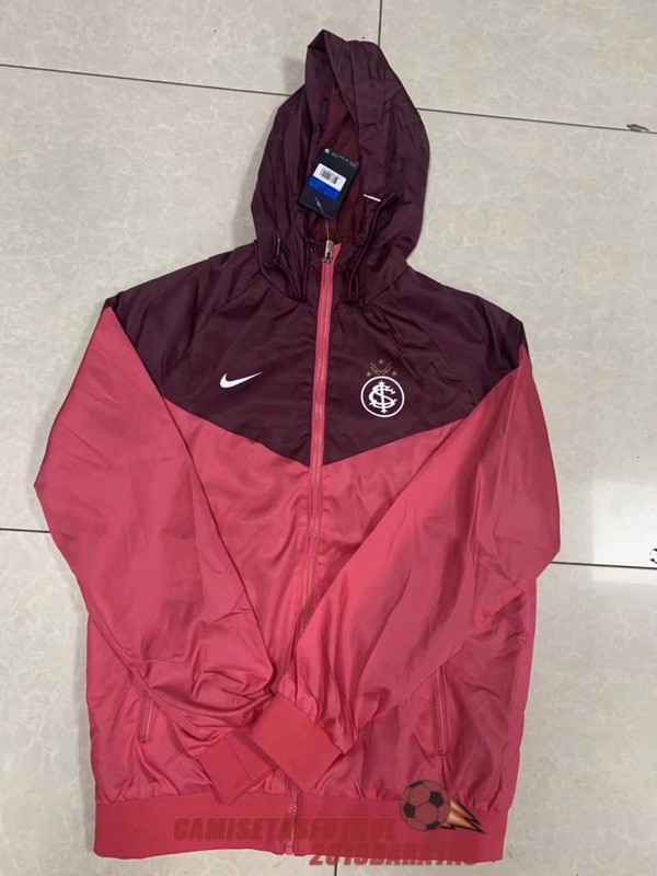 sport club internacional rs 2018 2019 rompevientos rosa marron